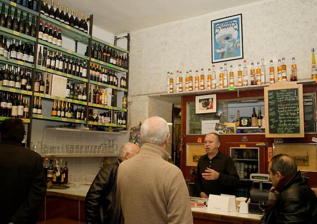 Display, Pan Enoteca Corsi Restaurant, Rome, Italy