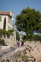 Europe/France/Provence-Alpes-Côte d'Azur/84/Vaucluse/Lubéron/Ménerbes: Le village - labellisé Les Plus Beaux Villages de France