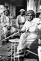 Iraq 1991 Men in a tearoom ( tchaikhane ) of Zakho <br />Irak 1991 Hommes dans un salon de thé, tchaikhane, de Zakho