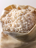 Alborio Risotto Rice - stock photos