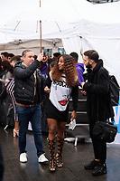 Alexandra Burke<br /> arriving for WE Day 2018 at Wembley Arena, London<br /> <br /> ©Ash Knotek  D3386  07/03/2018