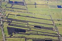 Neuland:EUROPA, DEUTSCHLAND, HAMBURG 02.04.2010:Neuland,  Renaturierung, Natur, Schutz, Teich, Graben, Vogelparadies, Wasservoegel, Brut, Nist, Platz, Rueckbau,  Luftbild, Aufwind-Luftbilder