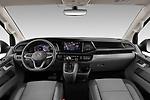 Stock photo of straight dashboard view of 2020 Volkswagen Caravelle Highline 5 Door Passenger Van Dashboard