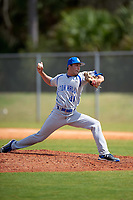 Seton Hall Pirates relief pitcher Matt Leon (41) delivers a pitch during a game against the Indiana Hoosiers on March 5, 2016 at North Charlotte Regional Park in Port Charlotte, Florida.  Seton Hall defeated Indiana 6-4.  (Mike Janes/Four Seam Images)