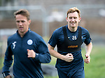 St Johnstone Training…22.09.17<br />Liam Craig pictured during training ahead of tomorrow's game against Hamilton<br />Picture by Graeme Hart.<br />Copyright Perthshire Picture Agency<br />Tel: 01738 623350  Mobile: 07990 594431