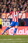 Gabi of Atletico de Madrid in action during the La Liga match between Atletico de Madrid and RCD Espanyol at the Vicente Calderón Stadium on 03 November 2016 in Madrid, Spain. Photo by Diego Gonzalez Souto / Power Sport Images