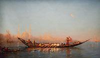ActiveMuseum_0000061.jpg / Constantinople, the caique of the Sultan's wife - Felix Ziem - <br />06/06/2013  -  <br />Active Museum / Le Pictorium