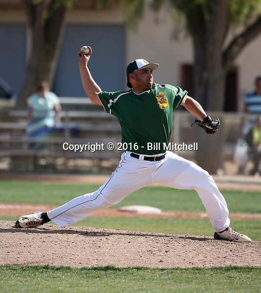 Sati Santa Cruz - 2016 Central Arizona Vaqueros (Bill Mitchell)