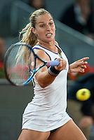 Slovakian Dominika Cibulkova during Mutua Madrid Open Tennis 2016 in Madrid, May 07, 2016. (ALTERPHOTOS/BorjaB.Hojas) /NortePhoto.com