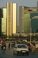 INDIA, Mumbai, business and finance complex Bandra-Kurla / INDIEN, Mumbai, Finanz und Business Komplex Bandra-Kurla