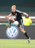 DC United defender Bryan Namoff (26), DC United defeated The San Jose Earthquakes 3-1, at RFK Stadium in Washington DC, Sunday June 22, 2008.