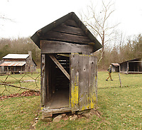 Outbuildings are numerous at the farmstead.<br />
