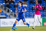 Ulsan Hyundai Midfielder Han Sangwun in action during their AFC Champions League 2017 Playoff Stage match between Ulsan Hyundai FC (KOR) vs Kitchee SC (HKG) at the Ulsan Munsu Football Stadium on 07 February 2017 in Ulsan, South Korea. Photo by Chung Yan Man / Power Sport Images
