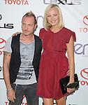 Malin Akerman and husband at The 2012 Environmental Media Awards held at Warner Brothers Pictures Studio in Burbank, California on September 29,2012                                                                               © 2012 Hollywood Press Agency