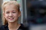 Foto: VidiPhoto<br /> <br /> DEN HAAG – Portret van het veertienjarige acteertalent Liz Vergeer uit Den Haag. Vergeer had rollen in films al Bumper Kleef, Kees Mees in de Wolken en Bankier van het Verzet. Inmiddels heeft ze ook een eigen film: Engel.