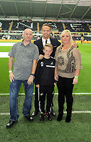 Pictured: <br /> Monday 16 September 2013<br /> Re: Barclay's Premier League, Swansea City FC v Liverpool at the Liberty Stadium, south Wales.