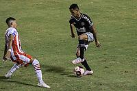 Volta Redonda (RJ), 03/04/2021 - VASCO-BANGU - Riquelme (d), do Vasco. Partida entre Vasco e Bangu, válida pela oitava rodada da Taça Guanabara, realizada no Estádio Raulino de Oliveira, em Volta Redonda, neste sábado (03).
