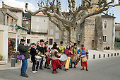 Festival of traditional music and instrument-makers, St Jean du Gard, France