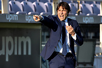 Antonio Conte coach of FC Internazionale reacts during the Italy Cup round of 16 football match between ACF Fiorentina and FC Internazionale at Artemio Franchi stadium in Firenze (Italy), January 13th, 2021. Photo Andrea Staccioli / Insidefoto