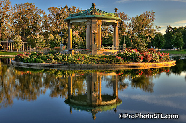 Pagoda in Forest Park in St. Louis, MO.