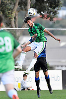 Jameel Ali of the Wainuiomata AFC during the Central League Football - Miramar Rangers AFC v Wainuiomata AFC at David Farrington Park, Wellington, New Zealand on Saturday 17 April 2021.<br /> Copyright photo: Masanori Udagawa /  www.photosport.nz