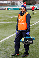 London Scottish physio Danielle Yarwood during the Greene King IPA Championship match between Ealing Trailfinders and London Scottish Football Club at Castle Bar , West Ealing , England  on 19 January 2019. Photo by Carlton Myrie/PRiME Media Images