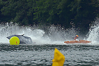Frame 7: 4-Z and 53-M come together in turn 1.  (Outboard Runabout)