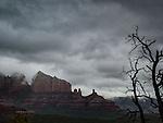 Winter Storm over Sedona