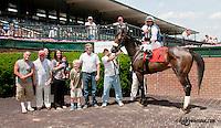 Robin's Kisses winning at Delaware Park on 6/22/13