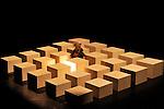Peuplé, dépeuplé de Christian et François Benaïm<br /> <br /> Chorégraphie : Christian et François Benaïm<br /> Danse : François Benaïm<br /> Cadre : <br /> Date : 02/04/2016<br /> Lieu :  CDC Atelier de Paris – Carolyn Carlson<br /> Ville : Paris<br /> © Laurent Paillier / photosdedanse.com