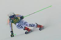 17th October 2020, Rettenbachferner, Soelden, Austria; FIS World Cup Alpine Skiing ladies downhill; Jessica Hilzinger (GER) in foggy conditions