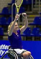19-12-10, Tennis, Rotterdam, Reaal Tennis Masters 2010,   Esther vergeer wint de Masters