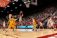Stanford, CA December 17, 2019. The Stanford Cardinal Men's Basketball Team vs San Francisco Dons at Maples Pavilion.  Stanford Cardinal defeats San Francisco Dons  64-56