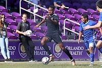 Orlando, Florida - Wednesday January 17, 2018: Mason Toye. Match Day 3 of the 2018 adidas MLS Player Combine was held Orlando City Stadium.