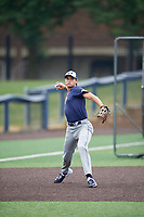Kyle Karros (23) during the Under Armour All-America Game Practice, powered by Baseball Factory, on July 21, 2019 at Les Miller Field in Chicago, Illinois.  Kyle Karros attends Mira Costa High School in Los Angeles, California and is committed to UCLA.  (Mike Janes/Four Seam Images)