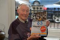 SCHAATSEN: SNEEK: 15-01-2020, Fries Scheepvaart Museum, Dag van de Elfstedentocht, Reinier Paping (winnaar Elfstedentocht 18-01-1963), ©foto Martin de Jong