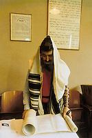 - Milan, Synagogue of the Jewish School in Soderini street....- Milano, Sinagoga della Scuola Ebraica di via Soderini