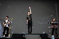 SAO PAULO, SP 05.04.2019: LOLLAPALOOZA-SP - Show com Troye Sivan. Lollapalooza Brasil 2019, que acontece de 05 a 07 de abril no Autodromo de Interlagos, zona sul da capital paulista. (Foto: Ale Frata/Codigo19)