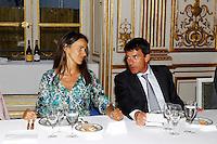 Aurelie Filippetti (Ministre de la Culture et de la Communication) et Manuel Valls (Ministre de l interieur). .Parigi 22/8/2012.Consiglio dei Ministri.Foto Insidefoto / Gwendoline Le Goff / Panoramic