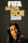 Marta (BRA) ist fuer den FIFA Women's WorldPlayer of the Year vorgeschlagen (Andreas Meier/EQ Images)