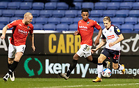 Bolton Wanderers' Lloyd Isgrove (right) breaks<br /> <br /> Photographer Andrew Kearns/CameraSport<br /> <br /> The EFL Sky Bet League Two - Bolton Wanderers v Salford City - Friday 13th November 2020 - University of Bolton Stadium - Bolton<br /> <br /> World Copyright © 2020 CameraSport. All rights reserved. 43 Linden Ave. Countesthorpe. Leicester. England. LE8 5PG - Tel: +44 (0) 116 277 4147 - admin@camerasport.com - www.camerasport.com
