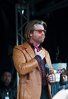 November 13 2017, PARIS FRANCE<br /> the President of France Emmanuel Macron<br /> honors the victims of the 13 november 2015<br /> in the scenes of attacks. Jesse Hughes is<br /> very touched. # HOMMAGE AUX VICTIMES DES ATTENTATS DU 13 NOVEMBRE 2015