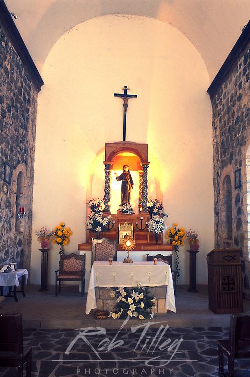 Mexico, Baja California Sur, Mulege, Mission Santa Rosalia de Mulege