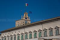 26.01.2021 - Italian Government Crisis: Italian PM Giuseppe Conte Resignation at Quirinale