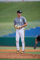 Luke Jewett (20) of JSerra Catholic High School in Ladera Ranch, CA during the Perfect Game National Showcase at Hoover Metropolitan Stadium on June 17, 2020 in Hoover, Alabama. (Mike Janes/Four Seam Images)