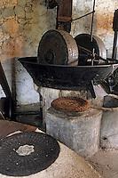 Europe/France/Corse/2A/Corse-du-Sud/Sainte Lucie de Tallano: le vieux moulin à huile des oléiculteurs de l'Alta-Rocca