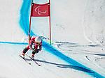 Mollie Jepsen, PyeongChang 2018 - Para Alpine Skiing // Ski para-alpin.<br /> Mollie Jepsen skis in the women's standing super-G // Mollie Jepsen skie dans le super-G debout des femmes. 11/03/2018.