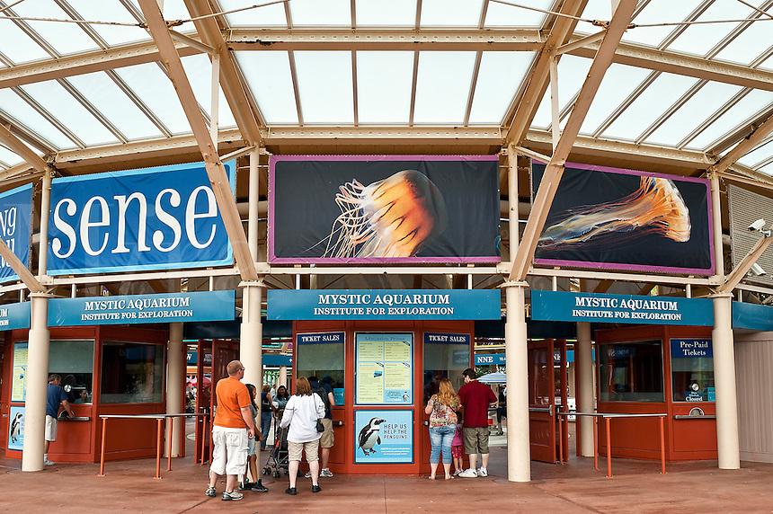 Mystic Aquarium, Connecticut, CT, USA