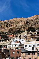 Castillo de Lorca aus dem 13.Jh.,  Provinz Murcia, Spanien, Europa