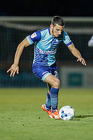 Nick Freeman of Wycombe Wanderers during the The Checkatrade Trophy match between Wycombe Wanderers and West Ham United U21 at Adams Park, High Wycombe, England on 4 October 2016. Photo by David Horn.